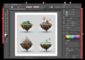 Digitale illustraties maken - Module 2: Complexe digitale illustraties | Woensdagavond 18u30 tot 21u30 (semestercursus) | Locatie Maasmechelen