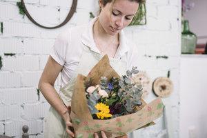 Florist:  stijl en vormleer 2 | Donderdagvoormiddag 9u00 tot 12u40 (van 27/01/2021 tot 16/06/2021) | Locatie Maasmechelen