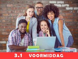 Nederlands 3.1 (Vantage mondeling) | ma-di-do-vrij van 09u00-12u05 ( 4x/week van 02/09/2021 tot 08/11/2021) | Locatie Hasselt campus Moderne Talen