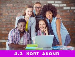 Nederlands 4.2 kort (Effectiveness schriftelijk)   dinsdag van 18u00 tot 22u00 ( van 07/09/2021 tot 25/01/2022)  Locatie Hasselt campus Moderne Talen